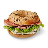 Aura® Ham & Salami Bagel
