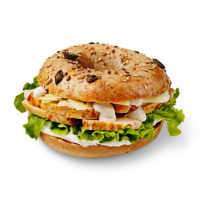 Chicken Caesar Bagel