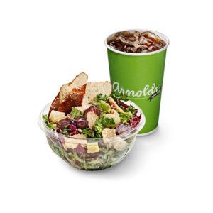 Salaatti ja juoma
