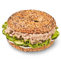 Spicy Tuna Bagel