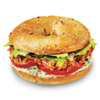 Pulled Pork Bagel