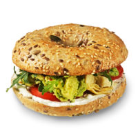 Vege Avocado Bagel