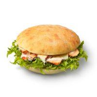 Chicken Caesar Focaccia Roll