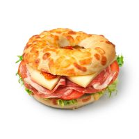 Coppa Ham & Cheese Bagel